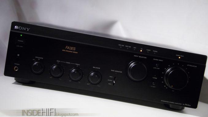 усилитель Sony TA-FA3ES (MOS FET) - 27000 руб