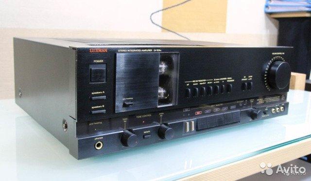 Luxman LV-104U лампа+ мосфет предтоп