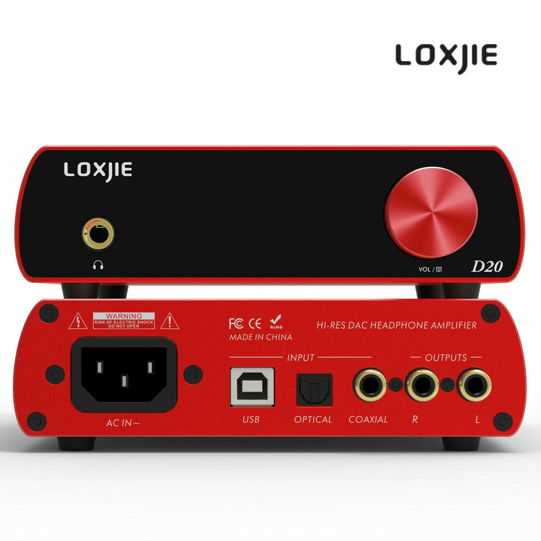 ЦАП LOXJIE D20 + усилитель для наушников