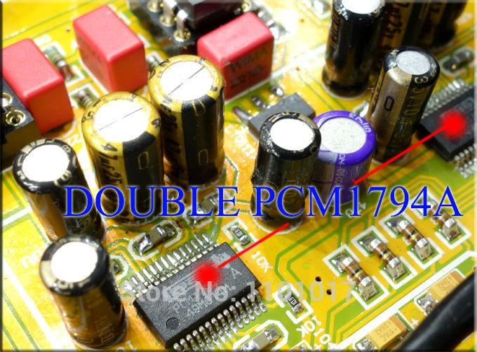 ЦАП SU2 Weiliang 2x PCM1794 + LME49720 из Китая