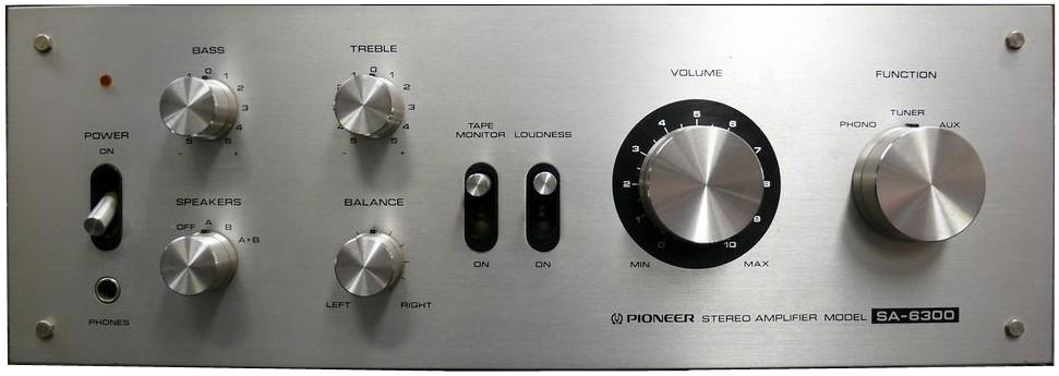 Pioneer SA-6700 - винтаж 1975 года, слушаем и сравниваем